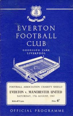 Everton x Manchester United (1963)