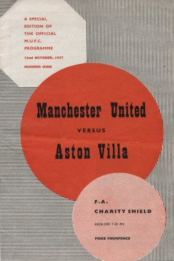 Manchester United x Aston Villa (1957)
