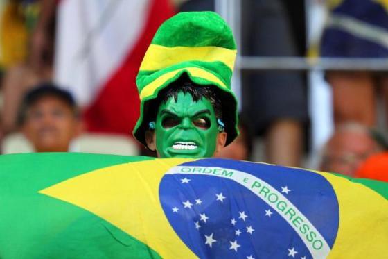 Brasil 2 x 0 México