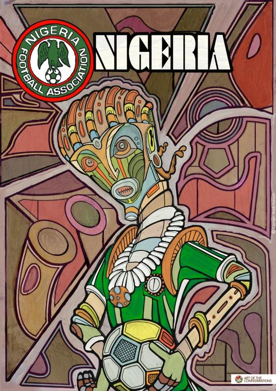 nigéria copa das confederações